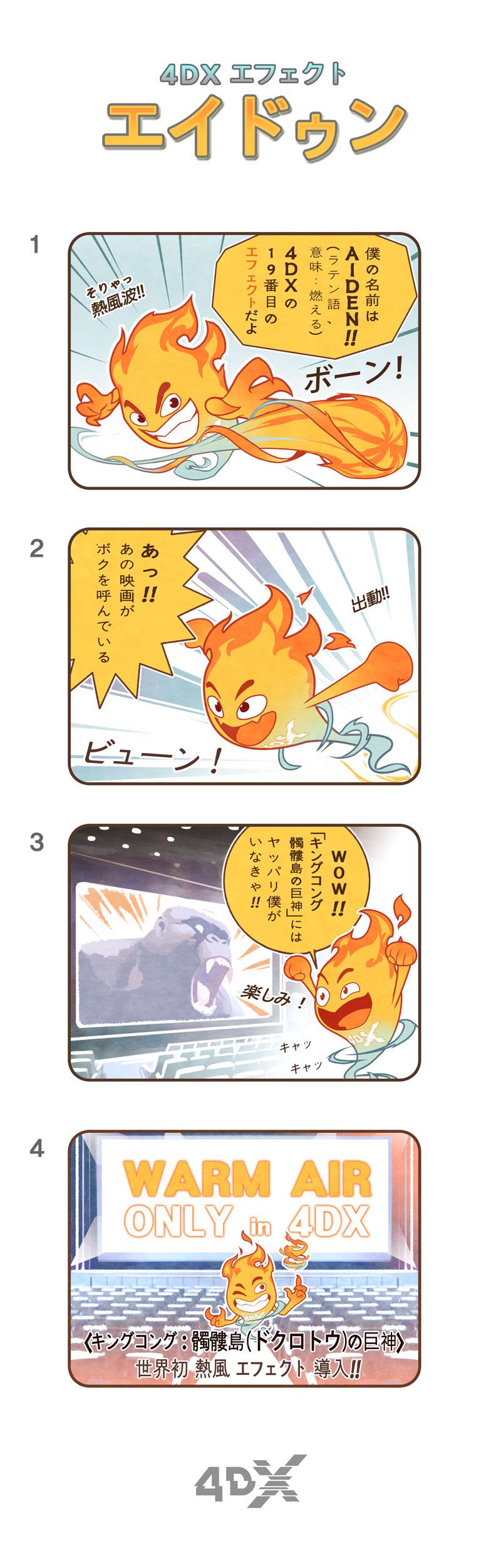 4DX-熱風